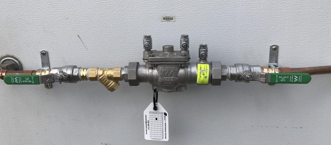 Backflow prevention device valve assembly